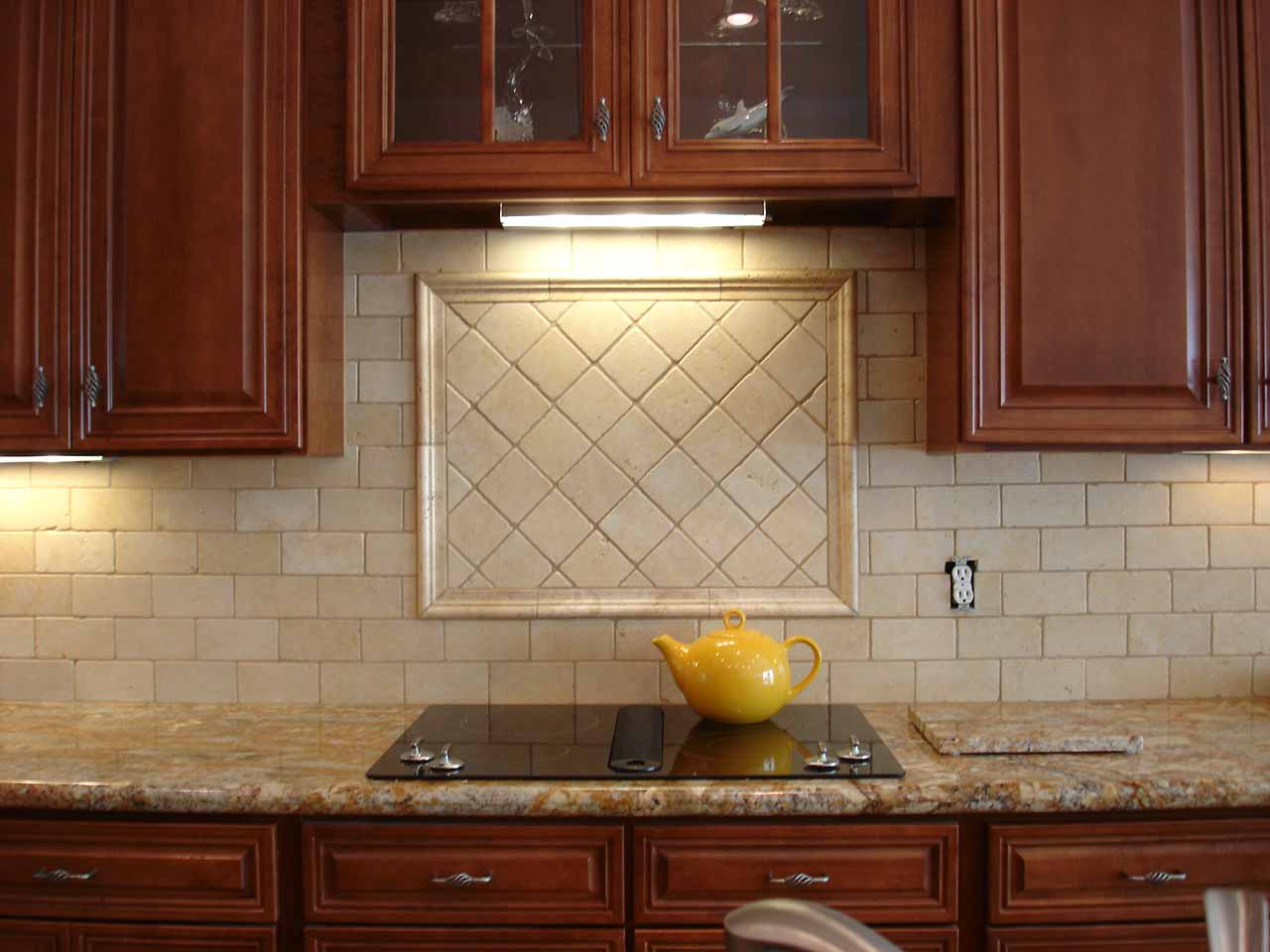 75 kitchen backsplash ideas for 2018 tile glass metal etc for Beige kitchen designs
