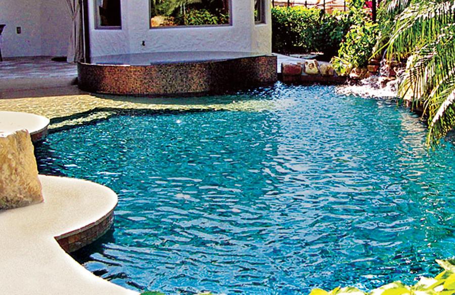 20 Awesome Zero Entry Backyard Swimming Pools I E Beach
