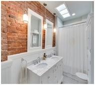 brick backsplashe image