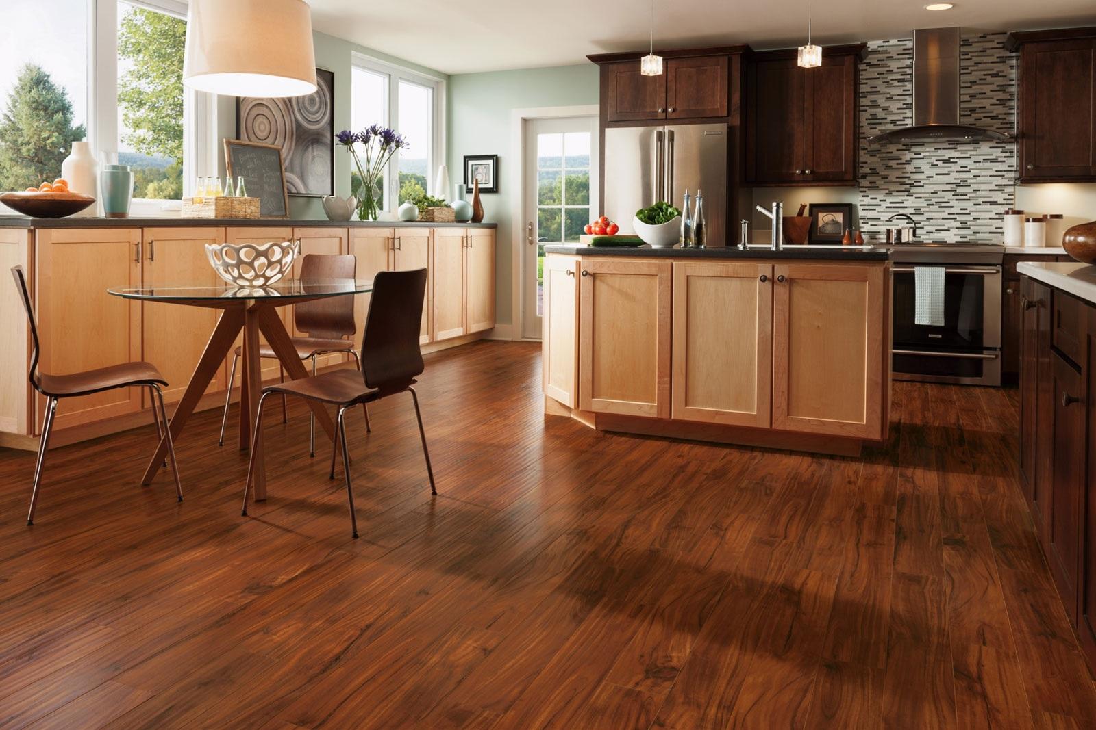 brown color kitchen floor image