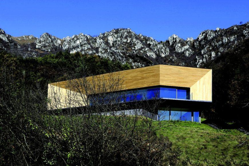 Alps Villa Modern Masterpiece By Camillo Botticini Architect