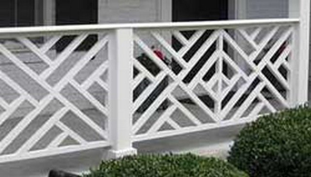 Types of deck railings Glass Railing Chippendale Railing Image Home Stratosphere 16 Types Of Deck Railing Design Ideas