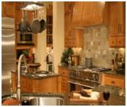 craftsman style kitchens image