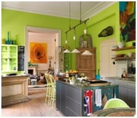 eclectic style kitchens image