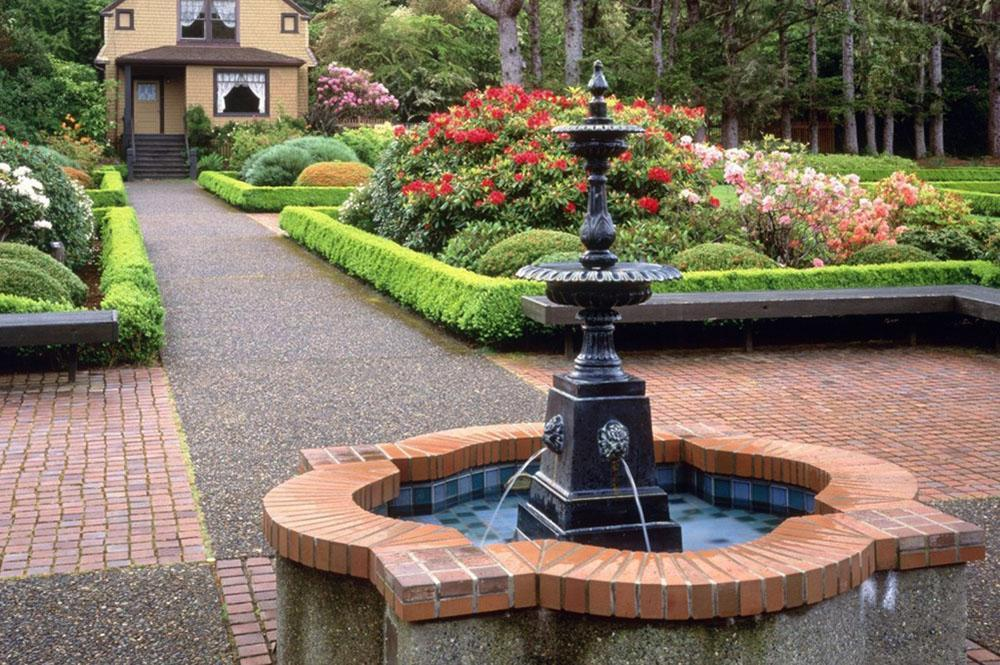 Backyard fountain