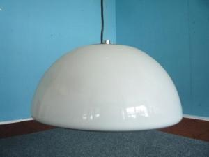 Plastic pendant light