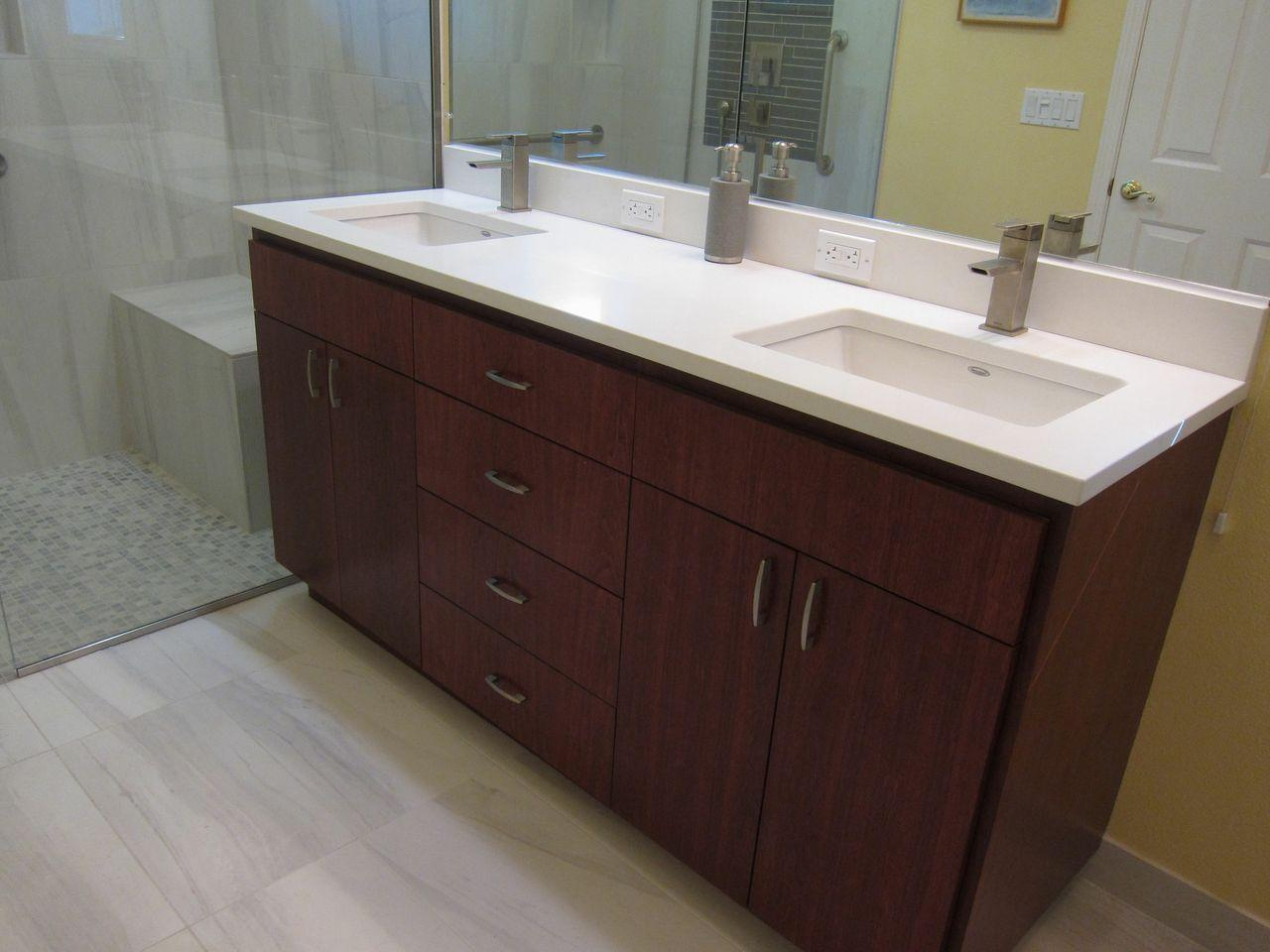 Corian Bathroom Vanity Tops : Most popular bathroom vanity tops materials styles