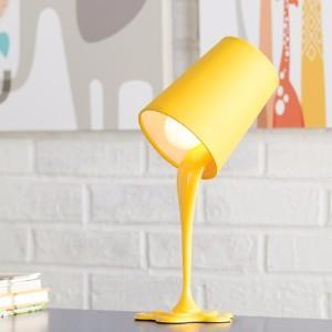 Plastic lamp base