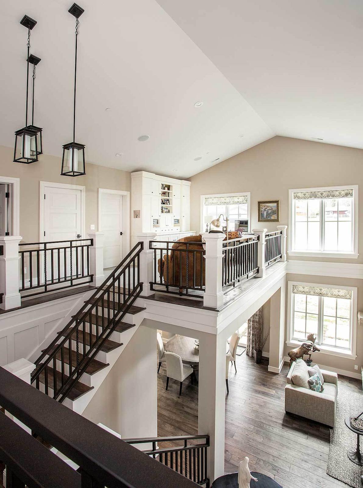 Best 25 Open Staircase Ideas On Pinterest: 35+ Upper Floor & Staircase Landing Design Ideas (Photos