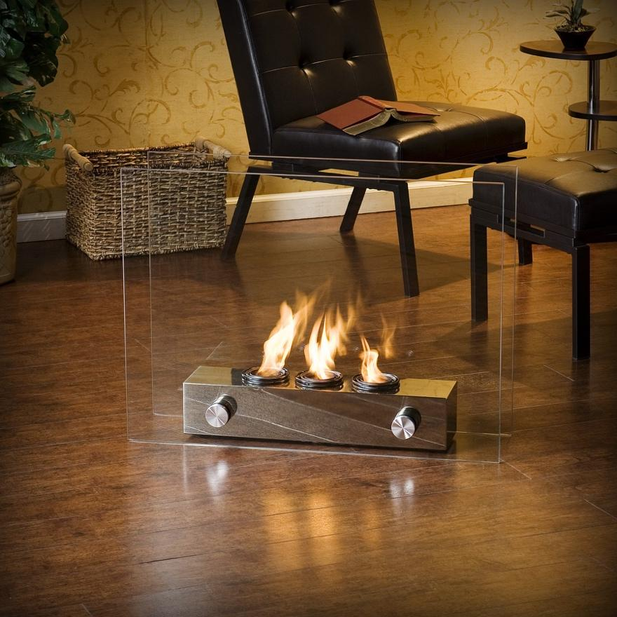 Fireplace Design real flame gel fireplace : 19 Fireplace Options for Your Home (Buying Guide) - Home Stratosphere