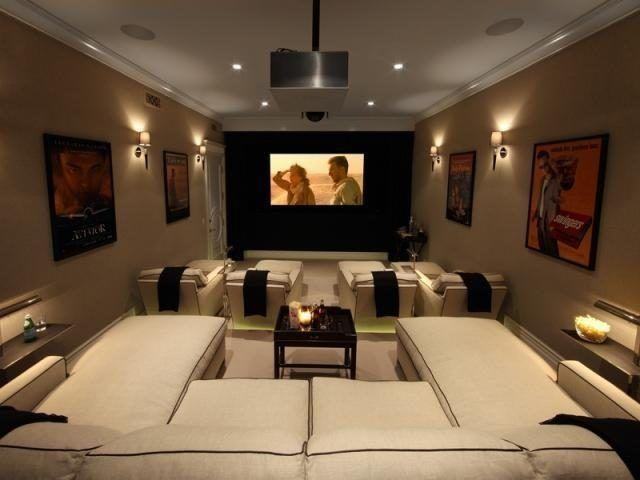The Basement Is Best Room To Setup Your Own Home Theater System Since It Has Ideal Size Can Be Rewired Easily Few Or No Windows And