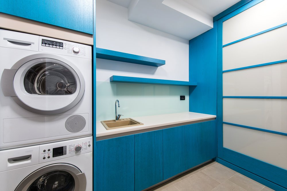20 Laundry Rooms With Stackable Washer And Dryer Photo