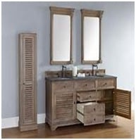 louvered style cabinets image