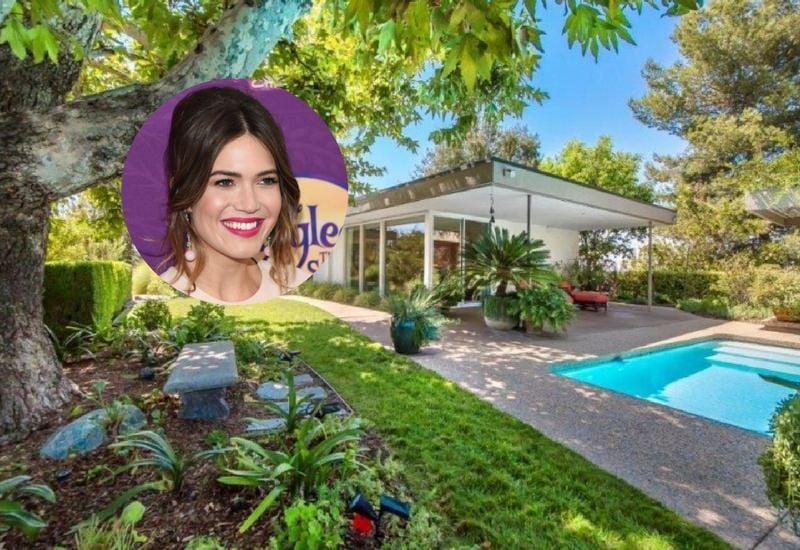 Mandy Moore's Midcentury house in Pasadena