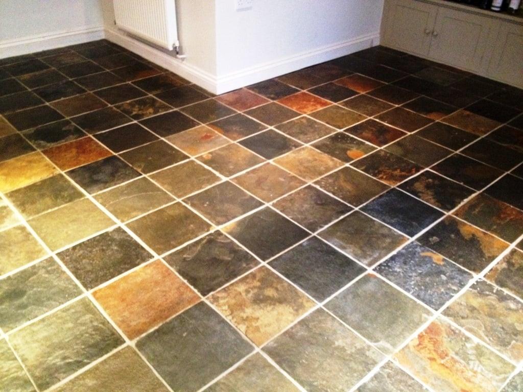 multi color kitchen floor image