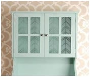 patterned glass bathroom cabinet image 3