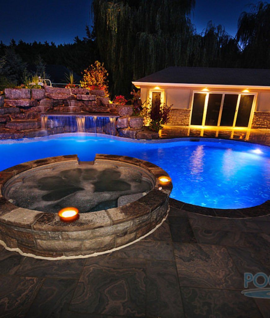 50 In Ground Swimming Pool Lighting Ideas And Colors