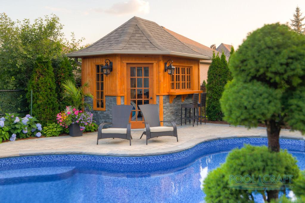 Stratosphere pool cabanas