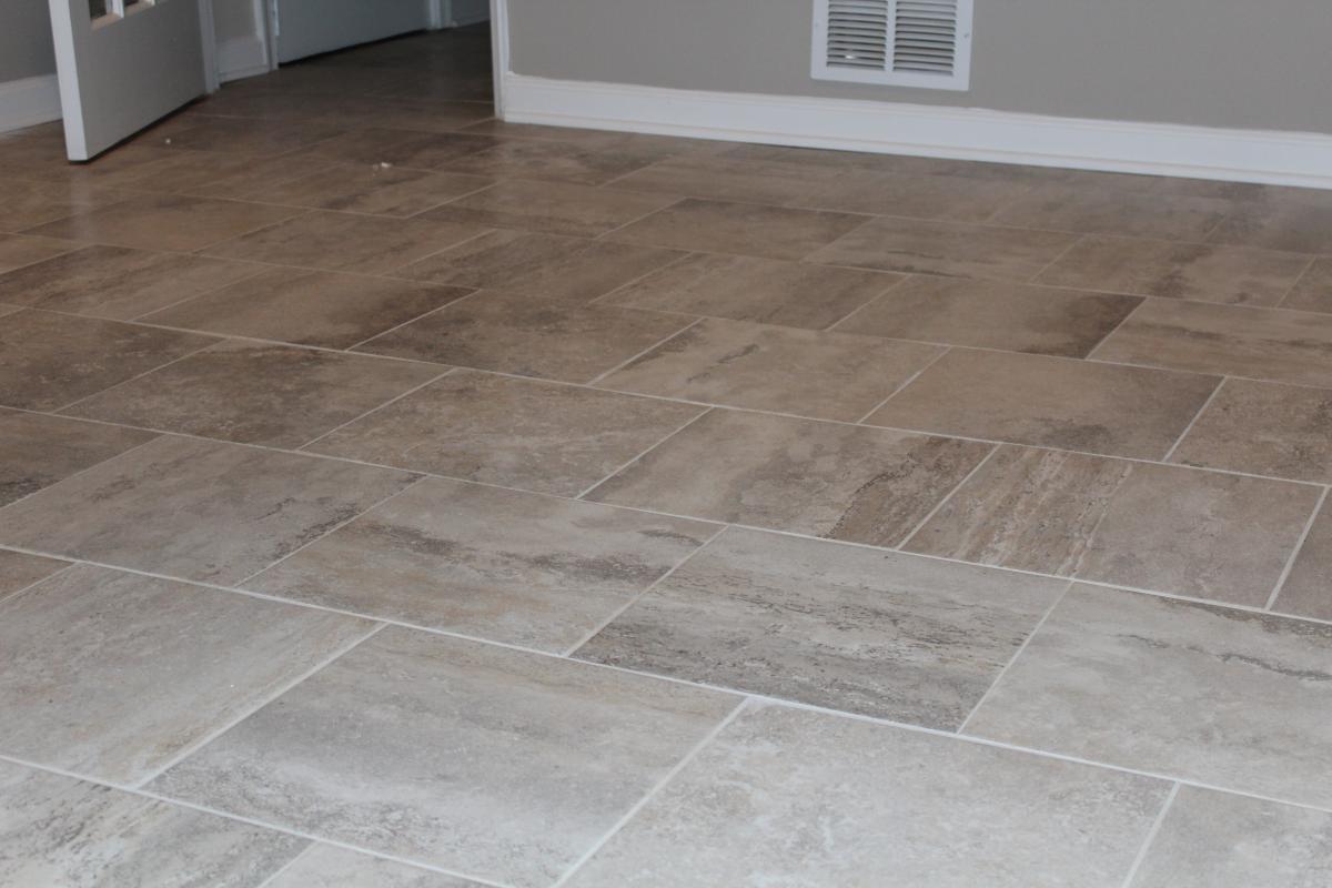 porcelain tile kitchen floor image