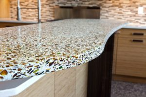 Recycled Glass Countertop Image