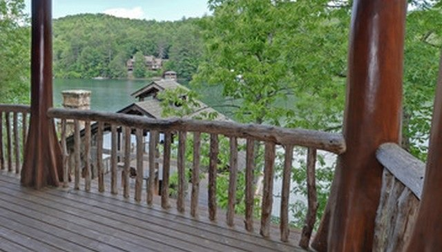 Types of deck railings Cable Rustic Railing Image Home Stratosphere 16 Types Of Deck Railing Design Ideas