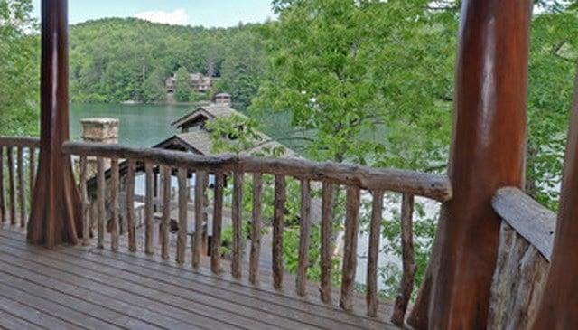 rustic railing image