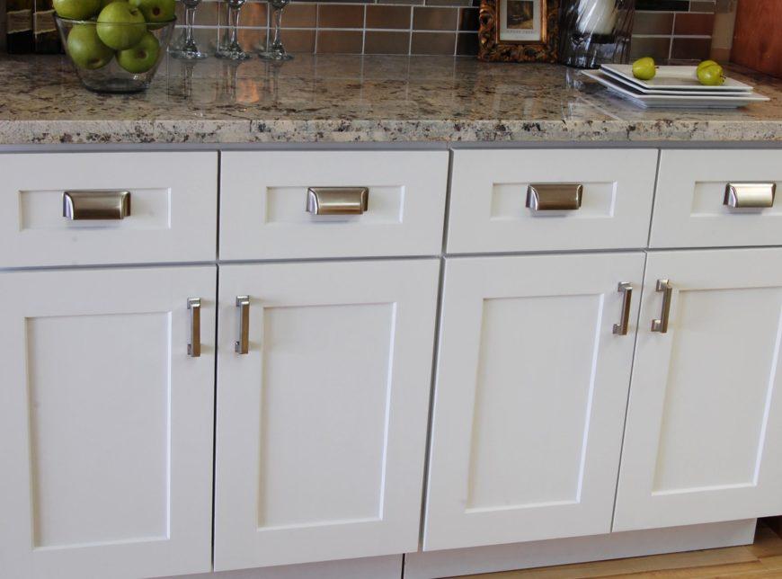 Shaker kitchen cabinet image