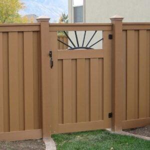 Single Door Gate Pattern Image