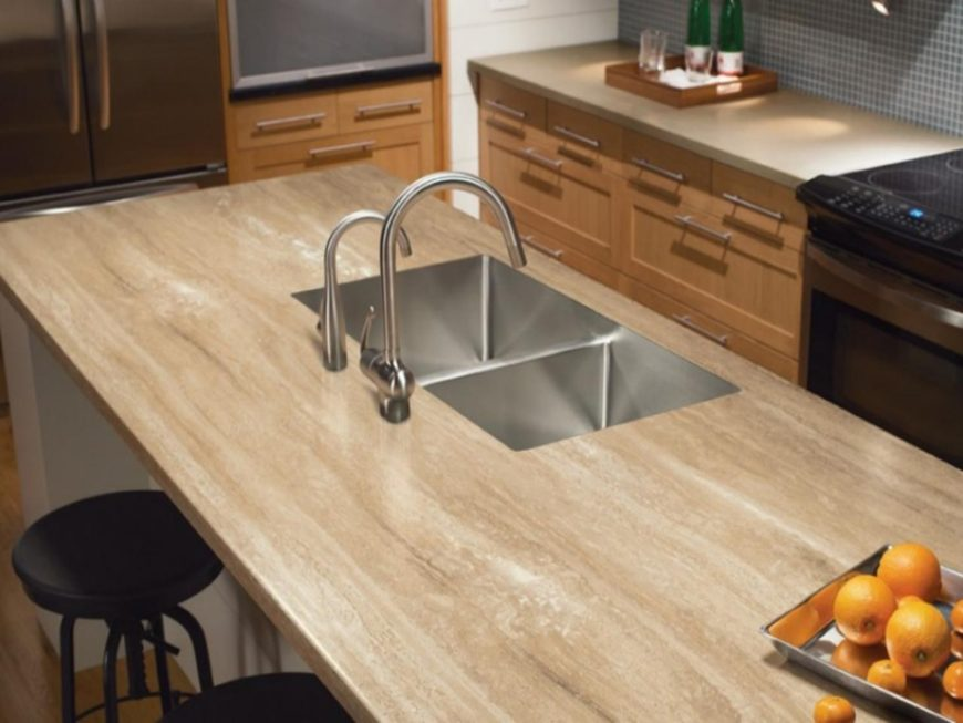 Solid surface countertop image