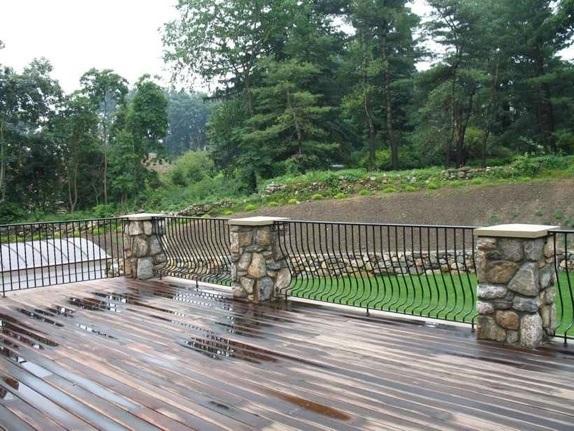 stone railing image
