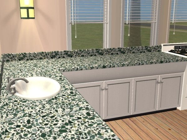 Terrazzo countertop image