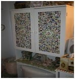 tiled mosaic bathroom cabinet image 3