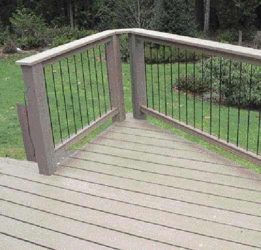 vertical railing image