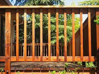 wood railing image