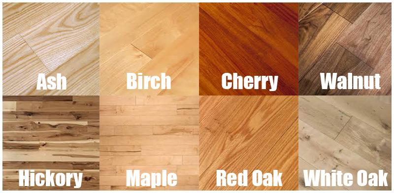 12 Types Of Hardwood Flooring Species Styles Edging