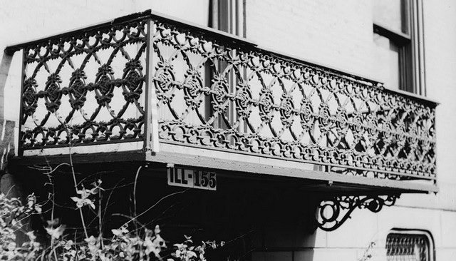 wrought iron railing image