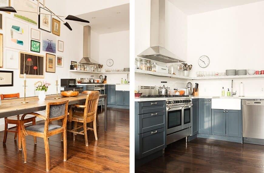 40 industrial kitchen ideas for 2018 - Kitchen design brooklyn ...