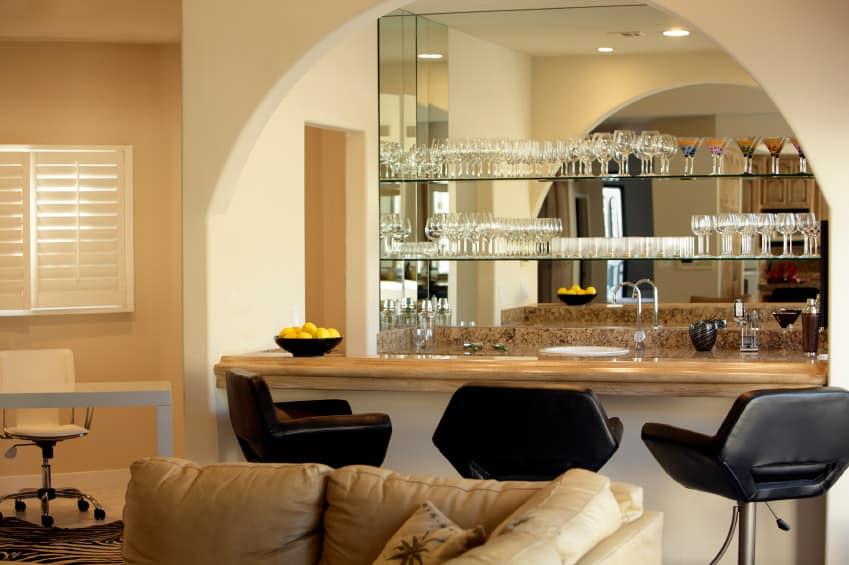 Traditional style living room design ideas photos - Living room bar ideas ...