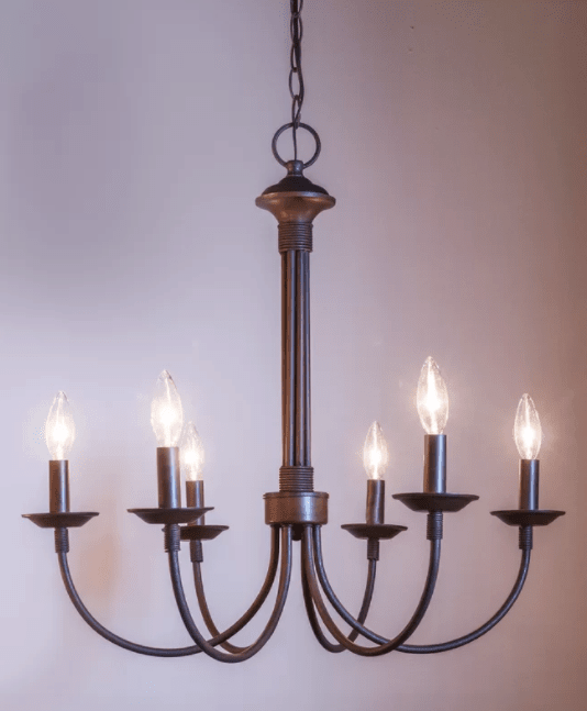 Shaylee 6-Light Candle-Style Chandelier