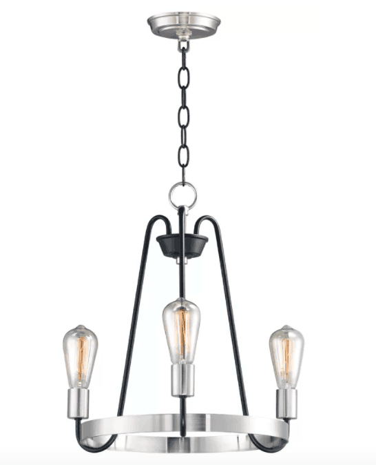 Hafford 3-Light Candle-Style Chandelier