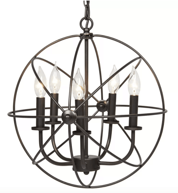 Caius 5-Light Globe Chandelier