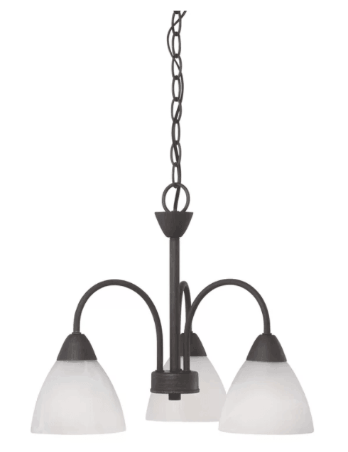 Sheldrake 3-Light Shaded Chandelier