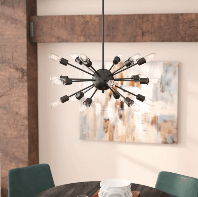 Defreitas 18-Light Sputnik Chandelier