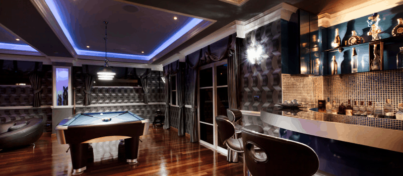 Pool Room Design | 75 Fun Game Entertainment Room Ideas For 2018