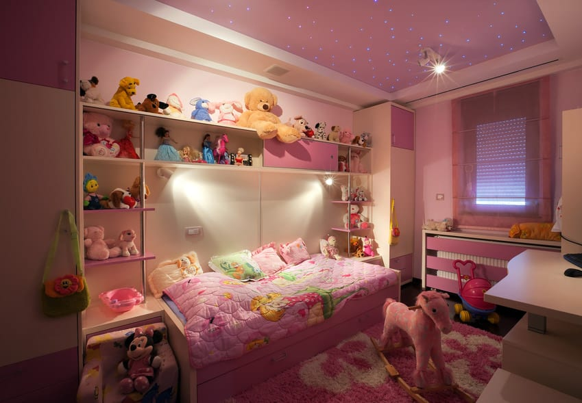 85 Girls Bedroom Design Ideas Photos