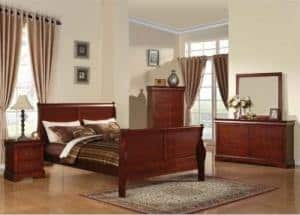Traditional style primary bedroom