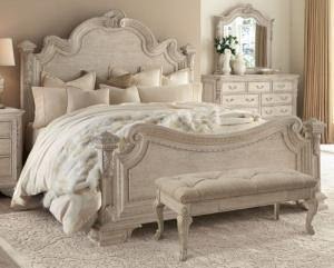 French Country style primary bedroom