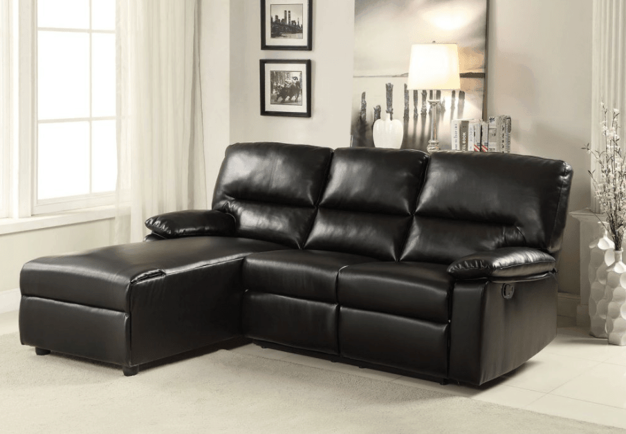 Reclining sectional sofa for less than $1,000