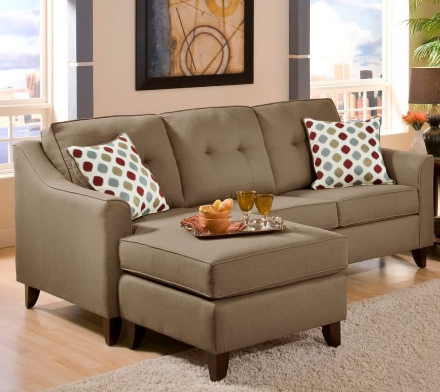 Beautiful tan sectional sofa under $1,000