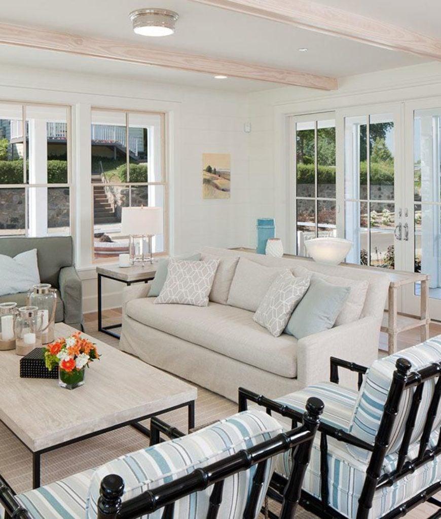50 Beach Living Room Ideas for 2019